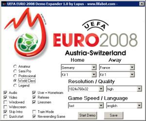 euro 2008 demo expander